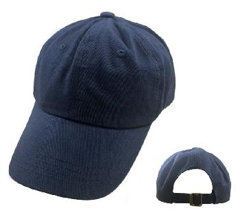 100% Cotton Ball Cap [Navy Only]